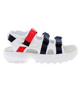Comprar sandalias Fila Disruptor W 1010611.01M tricolor al mejor precio en tu tienda Fila online chemasport.es