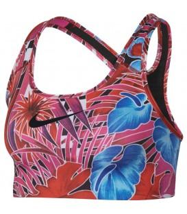 Top para mujer Nike Swoosh estampado tropical AT3484-623. Otros modelos de sujetadores deportivos para mujer en chemasport.es