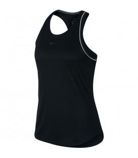 Comprar camiseta de entrenamiento para mujer Nike Courtdry 939314-010 de color negro al mejor precio en chemasport.es