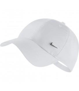 Gorra para hombre y mujer Nike Sportwear heritage 86 Cap 943092-100 de color blanco con logo de nike al mejor precio en chemasport.es