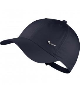 Gorra para hombre y mujer Nike Sportswear Heritage Cap AV8055-451 de color azul marino al mejor precio en chemasport.es