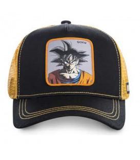Comprar gorra de Dragon Ball al mejor precio en chemasport.es. Gorra Capslab Goku de Dragon Ball en color azul marino y naranja en chemasport.es