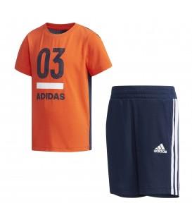 Conjunto para niños adidas training DW4059 de camiseta y pantalón corto al mejor precio en tu tienda de deportes online chemasport.es