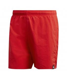 Comprar bañador para la playa para hombre adidas solid SH SL DQ2973 de color rojo al mejor precio en tu tienda de deportes chemasport.es