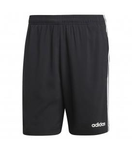 Comprar pantalón corto de entrenamiento para hombre adidas essentials Chelsea 3 bandas DQ3073 de color negro en chemasport.es
