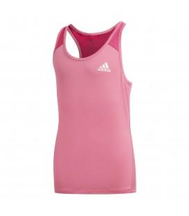Camiseta para niños adidas branded DV2754 de color rosa al mejor precio en chemasport.es