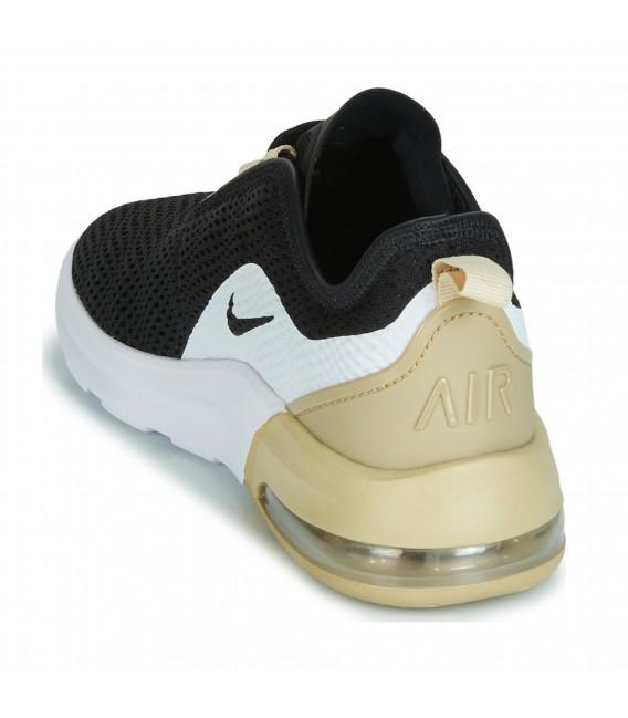 zapatillas nike negras con dorado