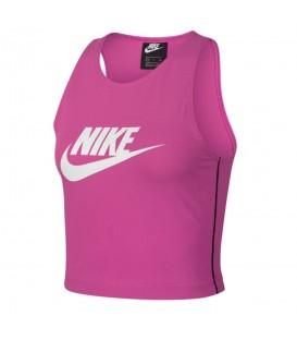 Comprar top deportivo Nike Sportswear Heritage AR2327-623 de color rosa al mejor precio en chemasport.es