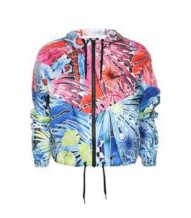 Comprar chaqueta para mujer Nike Sportswear Flower Power AT0562-686 con estampado de flores al mejor precio en chemasport.es