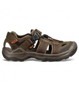 Sandalias de trekking para hombre Teva Omnium 2 Leather 1019179 de color marrón al mejor precio en chemasport.es