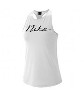 Camiseta de running para mujer Nike Pro W AR6979-100 de color blanco al mejor precio en tu tienda de deportes online chemasport.es