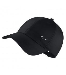 Gorra unisex para hombre y mujer Nike Sportswear Heritage 86 Cap de color negro al mejor precio en chemasport.es