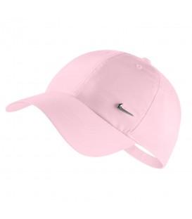 Gorra para mujer Nike Sportwear Heritage 86 cap 943092-663 de color rosa al mejor precio en chemasport.es