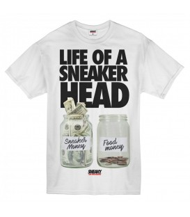 CAMISETA SNEAKY LIFE OF A SNEAKER HEAD