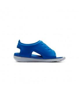 Chanclas para niños Nike Sunray Adjust 5 AJ9077-400 de color azul al mejor precio en tu tienda de deportes en Pontevedra chemasport.es