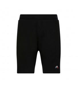 Pantalón corto para hombre Le Coq Sportif 1911243 de color negro al mejor precio en chemasport.es