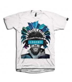 """Comprar camiseta de Leg3nd con imagen del cantante Jason """"Jay"""" Kay de Jamiroquai al mejor precio en Chema Sport."""