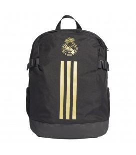 Mochila de fútbol unisex adidas Real Madrid DY7716 de color negro al mejor precio en chemasport.es