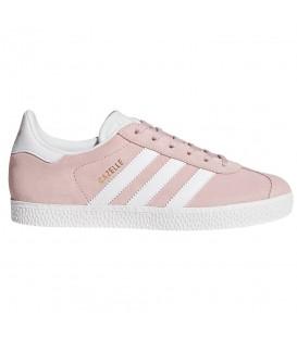 Zapatillas para mujer adidas Gazelle J BY9544 de color rosa al mejor precio en tu tienda de sneakers en Pontevedra chemasport.es