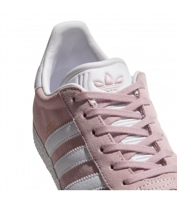 zapatillas adidas gazelle rosa claro
