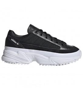 ef56dfdd Comprar deportivas con plataforma para mujer adidas Kiellor W EF9113 de  color negro al mejor precio