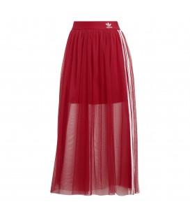Comprar falda de tul para mujer adidas ED4756 de color rojo al mejor precio en tu tienda de moda online chemasport.es