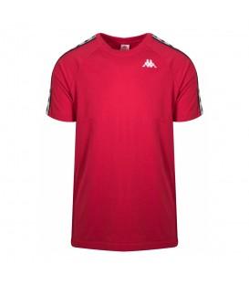 Comprar camiseta para hombre Kappa Coen 3600440-A76 de color rojo al mejor precio en tu tienda de moda chemasport.es
