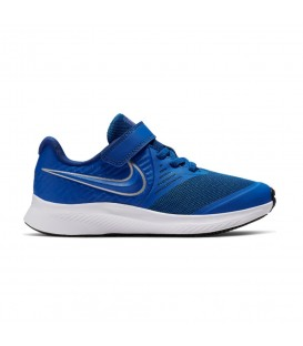 ZAPATILLAS NIKE STAR RUNNER PSV AT1801-400 AZUL