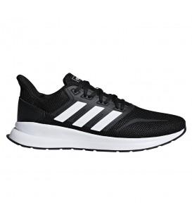 Comprar deportivas de running para hombre adidas Runfalcon F36199 de color negro al mejor precio en tu tienda de deportes online chemasport.es