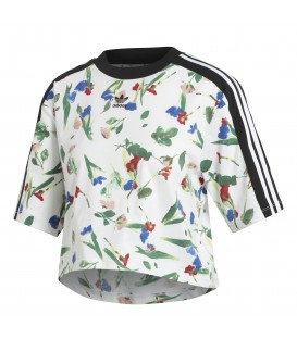 CAMISETA ADIDAS CROPPED ALLOVER PRINT