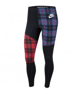 Mallas sportwear para mujer Nike Sportswear con estampado de cuadros al mejor precio en chemasport.es