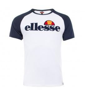 Comprar camiseta de manga corta para hombre Ellesse Piave de color blanco al mejor precio en tu tienda de moda en Pontevedra Chema Sneakers.