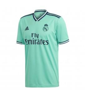 Camiseta de fútbol adidas tercera equipación Real Madrid temporada 2019/20 de color verde al mejor precio en chemasport.es