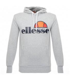 Comprar sudadera de moda para hombre Ellesse Gottero de color gris con el logo de Ellesse en el pecho al mejor precio en chemasport.es