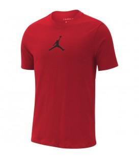 Camisera nike jordan en color rojo de algodon al mejor precio