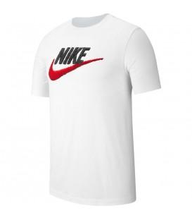 Camiseta Nike Sportwear de hombre en blanco al mejor precio