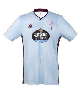 Camiseta de fútbol adidas RC Celta 2019/20 Junior de color azul celeste al mejor precio en tu tienda de fútbol online chemasport.es