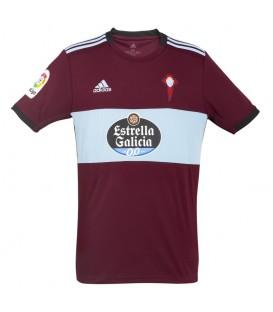 Camiseta de fútbol adidas RC Celta segunda equipación para la temporada 2019/20 de color granate al mejor precio en chemasport.es
