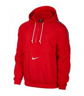 sudadera nike sportwear en color rojo para hombre al mejor precio en chemasport.es