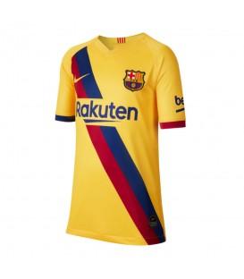 Camiseta de futbol Nike FC Barcelona segunda equipación 2019/20 stadium away de color amarillo al mejor precio en chemasport.es