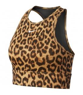 Top deportivo para mujer Nike Medium Sports estampado de leopardo al mejor precio en tu tienda de deportes online chemasport.es