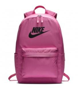 Mochila nike heritage 2.0 en color rosa perfecta para la vuelta al cole en tu tienda online chemasport.es