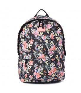 Mochila para colegio Rip Curl Dome Toucan Flora de color negro con estampado al mejor precio en chemasport.es