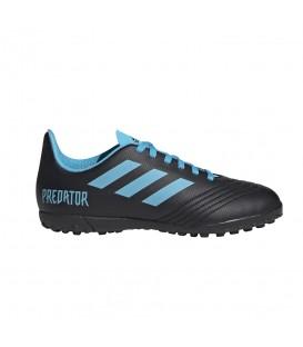 Comprar botas de fútbol para niños adidas Predator 19.4 J G25826 de color negro al mejor precio en tu tienda de sneakers chemasport.es