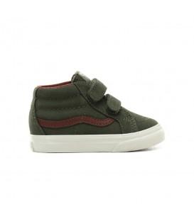 zapatillas vans mte sk8-mid en color gris para niño en tu tienda online chemasport.es