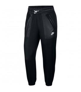 Pantalón nike woven cargo en color negro para mujer al mejor precio