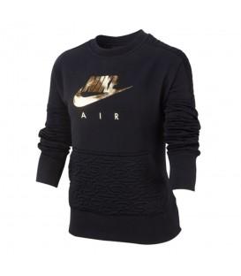 Sudadera para niños Nike Air G NSW de color negro al mejor precio en tu tienda de deportes online chemasport.es