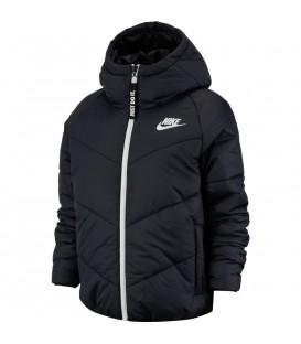 cazadora nike sportwear para mujer en color negro perfecta para el frio al mejor precio