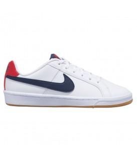Comprar deportivas unisex cómodas y baratas: zapatillas Nike Court Royale GS de color blanco al mejor precio en chemasport.es