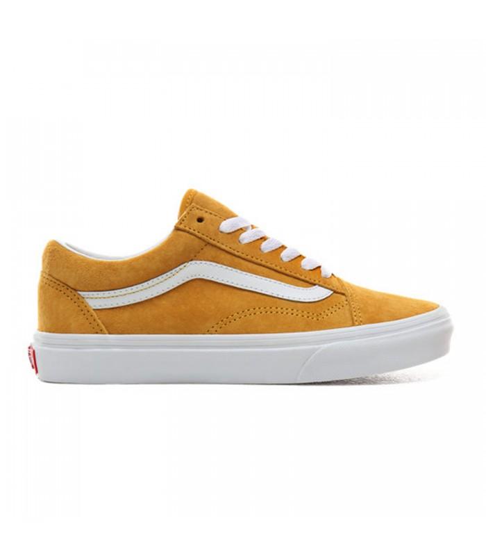zapatillas vans mujer amarillas